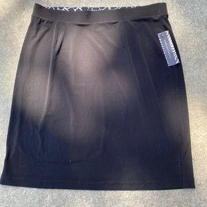 BNWT black stretchy skirt by Dana Buchman
